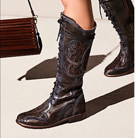 Free People Anna Sui x Bed Stu Milanna tall boots 00a7417b3633a